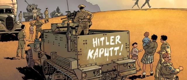 Brygada żydowska – recenzja komiksu