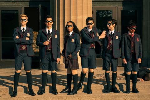The Umbrella Academy - koronawirus nie powstrzymuje prac post-produkcyjnych 2. sezonu serialu