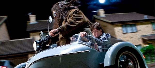 Harry Potter – nowa atrakcja w Disneylandzie. Możesz polecieć motocyklem z Hagridem