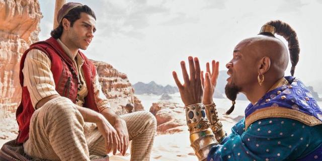 Aladyn – Will Smith po raz pierwszy jako niebieski dżin. Zobacz zwiastun