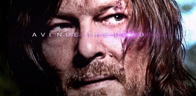 The Walking Dead jak Avengers: Koniec gry – spoilerowe plakaty inspirowane MCU