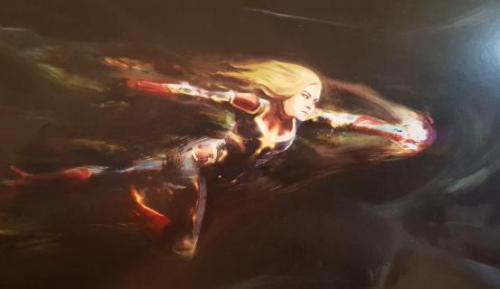 Kapitan Marvel – kostium superbohaterki MCU mógł wyglądać inaczej