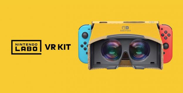Tak wygląda kartonowe VR na Switchu. Nintendo prezentuje nowy zestaw Labo