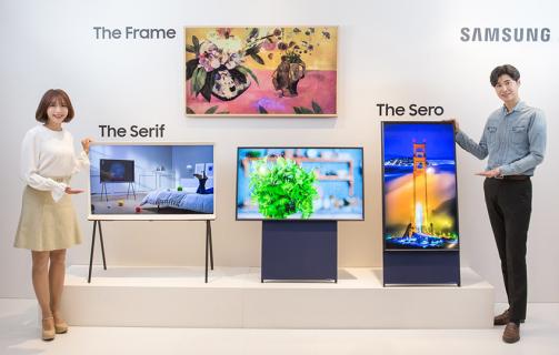 Samsung twierdzi, że potrzebujemy pionowych telewizorów