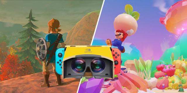 Nintendo od dawna planowało stworzyć zestaw Labo VR