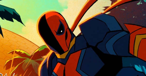 Tak wygląda Deathstroke w animacji CW Seed. Zobacz zdjęcie