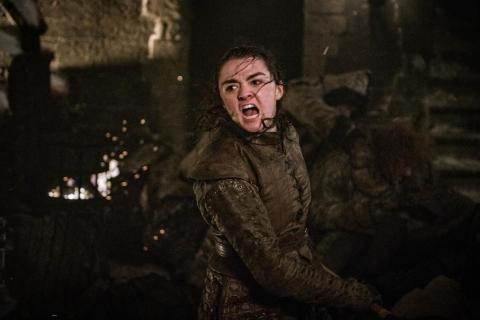 Gra o tron - Arya kontra złoczyńca z 3. odcinka. Reżyser o tym, jak się do niego dostała