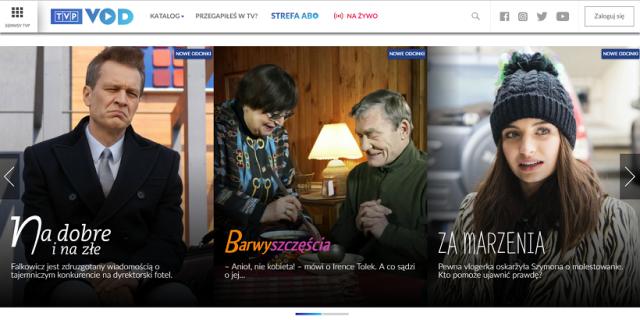 Aplikacja TVP VOD debiutuje na telewizorach LG oraz Panasonic