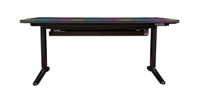 Gamingowe biurko Thermaltake będzie świecić i zastąpi podkładkę pod myszkę