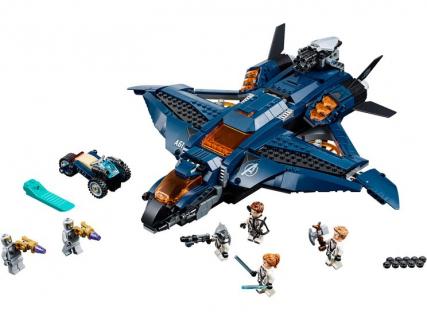 Konkurs LEGO Marvel Avengers - nie udało Ci się ostatnim razem? Quinjet czeka! [ZAKOŃCZONY]