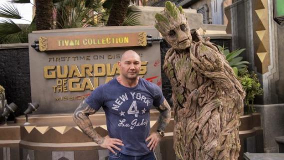 Dave Bautista pokornieje w sprawie dawnych wypowiedzi o Gunnie i Disneyu