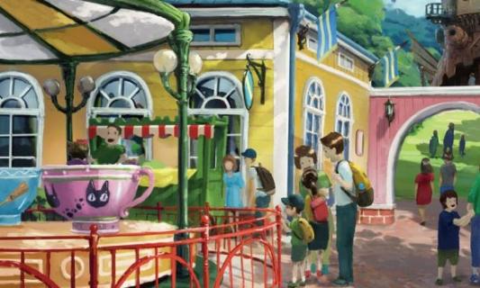 Powstanie park rozrywki Studia Ghibli. Pierwsze szkice koncepcyjne