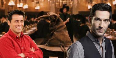 Harry Potter - Lucyfer i Przyjaciele w Hogwarcie. Do jakich domów trafiłyby postacie?