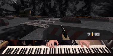 GoldenEye 007 – speedrun na pianinie