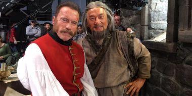 The Mystery of Dragon Seal - zwiastun. Jackie Chan kontra Arnold Schwarzenegger!