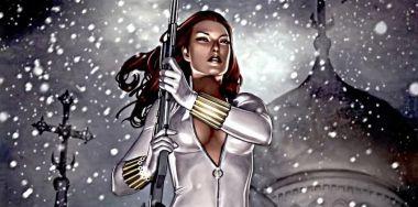 Czarna Wdowa ubrana na biało? Zdjęcia nowego kostiumu bohaterki