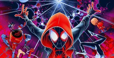 Spider-Man: Uniwersum - to chyba najlepszy plakat animacji. Oceńcie sami