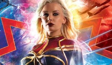 Kapitan Marvel - tak prezentuje się Jean Gray w porno parodii filmu MCU