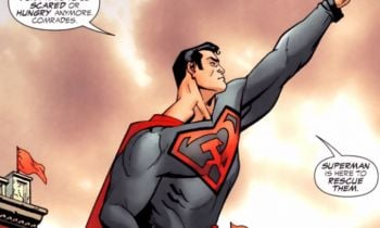 Superman: Czerwony Syn - pierwsze zdjęcie z animacji. Kto podłoży głosy?