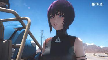 Ghost In The Shell: SAC_2045 - pierwszy plakat serialu anime Netflixa
