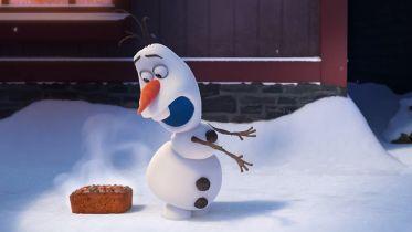 Kraina lodu - Olaf śpiewa nową piosenkę w krótkometrażówce