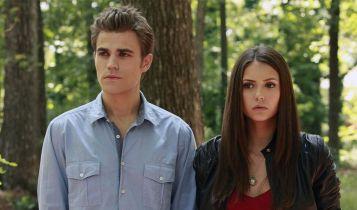 Pamiętniki wampirów - Nina Dobrev i Paul Wesley za sobą nie przepadają? Zabawne wideo