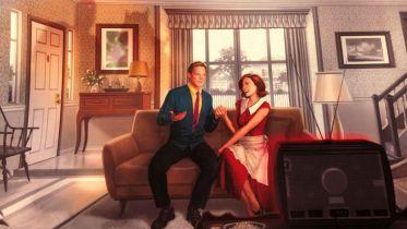 WandaVision - zaskakujące zdjęcia z planu. Kogo gra Kathryn Hahn?