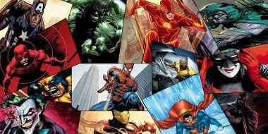 Avengers czy Batman? Najpopularniejsi superbohaterowie i złoczyńcy komiksów