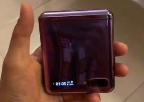 Samsung Galaxy Z Flip w akcji – wyciekł film pokazujący urządzenie