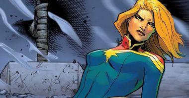 Kapitan Marvel podniosła Mjolnir, choć nie była tego godna - oto wyjaśnienie