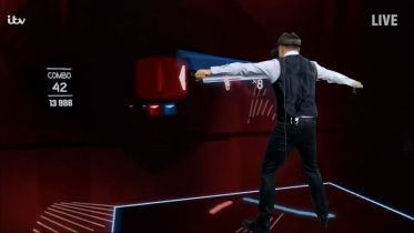 Gra Beat Saber VR w Ant & Dec's Saturday Night Takeaway