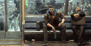 Cyberpunk 2077 i futurystyczne metro. Zobacz nową tapetę z gry
