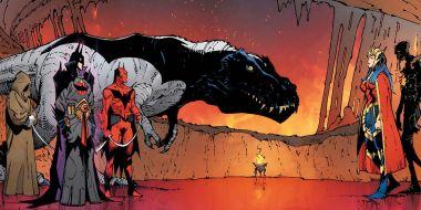 Batman jako dinozaur? Tak, dojdzie do tego w komiksach DC
