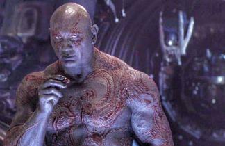 Strażnicy Galaktyki - Dave Bautista o usuniętych dramatycznych scenach z Draxem. To na nie czekał najbardziej