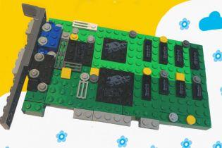 Kultowa karta graficzna ma szansę na wydanie w wersji LEGO