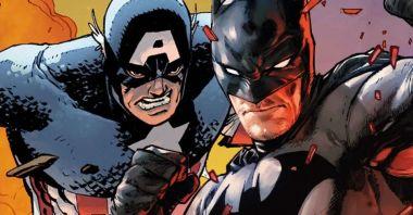 Marvel i DC nie byli pewni... Kto wygrałby starcie Kapitan Ameryka vs. Batman?