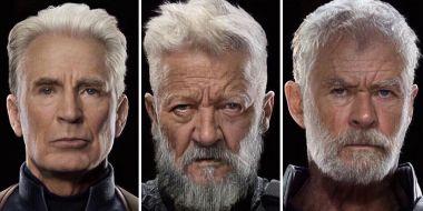 Avengers - Koniec gry dla staruszków. Czas nie oszczędza Mścicieli... [FANARTY]