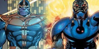 Thanos w komiksach miał wyglądać nie jak Darkseid, a inna postać DC [SZKIC]