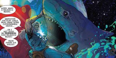 Thor: Love and Thunder - kosmiczne rekiny i inne szczegóły filmu MCU. Szkice koncepcyjne!