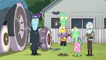 Solar Opposites i Crossing Swords - seriale animowane Hulu dostaną kolejne sezony