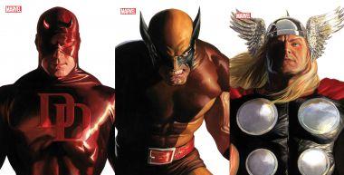 Marvel - Alex Ross narysował, herosi ożyli. Te okładki wyglądają obłędnie