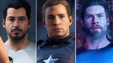 Marvel's Avengers - technologia deepfake ściągnęła do gry aktorów MCU. Wyglądają przekonująco?