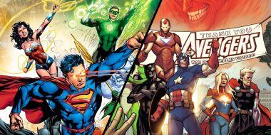 Avengers i Liga Sprawiedliwości - jest heros, który działał w obu tych grupach