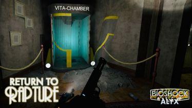 Nowy mod do Half-Life: Alyx przeniesie BioShocka do wirtualnej rzeczywistości