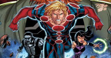 Eternals - jeszcze jedna grafika z grupą superbohaterów MCU