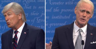 Jim Carrey jako Joe Biden parodiuje debatę prezydencką w SNL