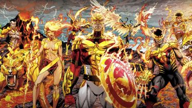 Marvel - Kapitan Ameryka też przejmie Moc Phoenixa. Tak płonie jego tarcza