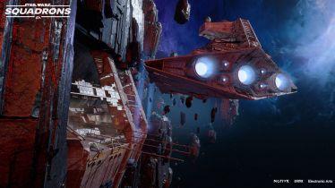 Star Wars: Squadrons z darmową aktualizacją. Do gry trafi nowa mapa i statki