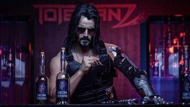 Cyberpunk 2077: cybernetyczne ramię Johnny'ego Silverhanda w prawdziwym życiu