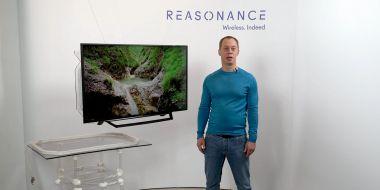 Reasonance - telewizor pozbawiony kabli [CES 2021]